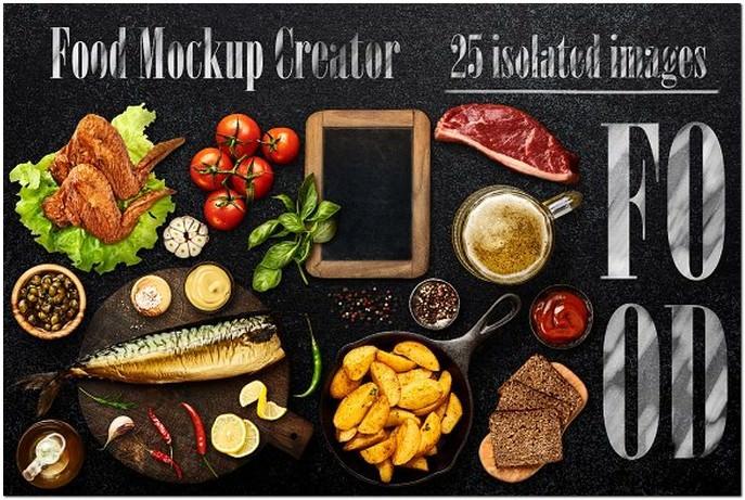 Food Mockup Creator #1