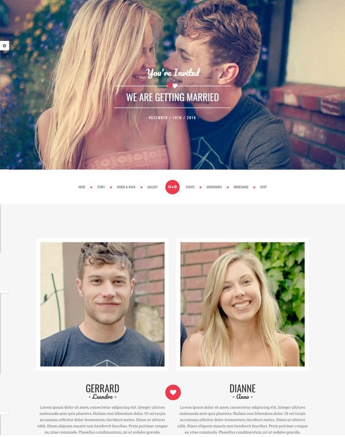 Forever - Responsive HTML Wedding Template