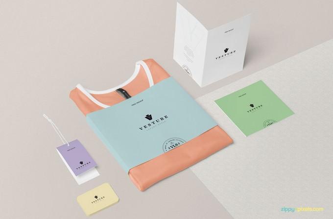 Free Fashion Branding Mockup