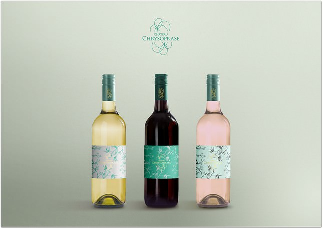 Free Psd Display Mockup Wine Bottle