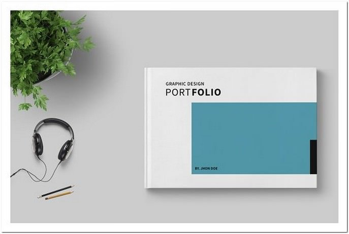 Graphic Design Portfolio Template # 2