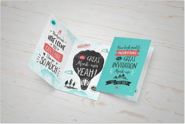 Greeting Card Mock-Up