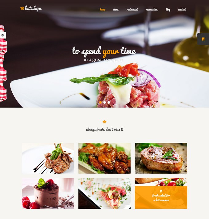 Restaurant Pizza Coffee HTML Template