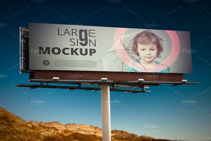 Large Sign Billboard