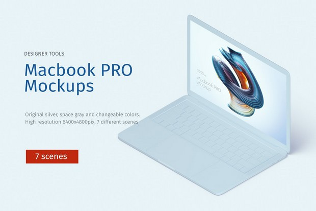Macbook Pro Creative mockup