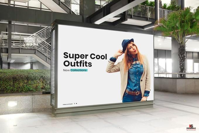 Mall Indoor Billboard