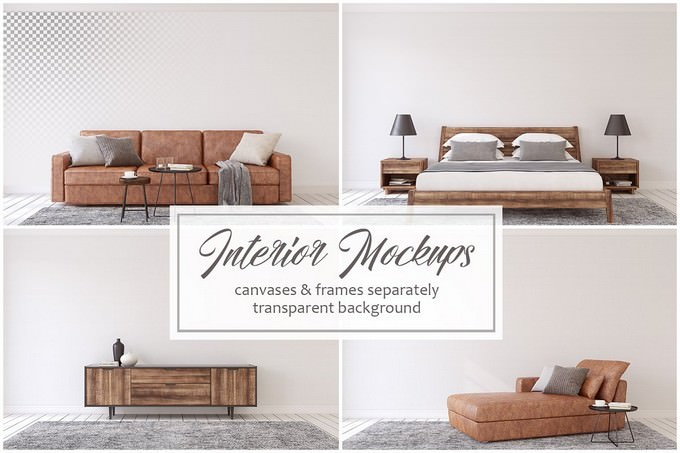 Men's Interior. Leather & Wood