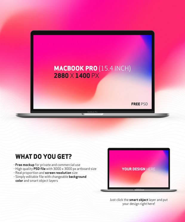 Mockup - Macbook Pro