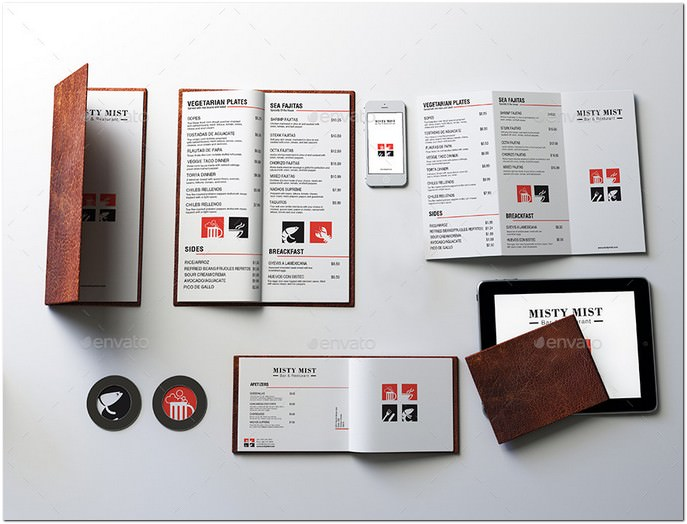 Mockup (Restaurants Collection) Set 1
