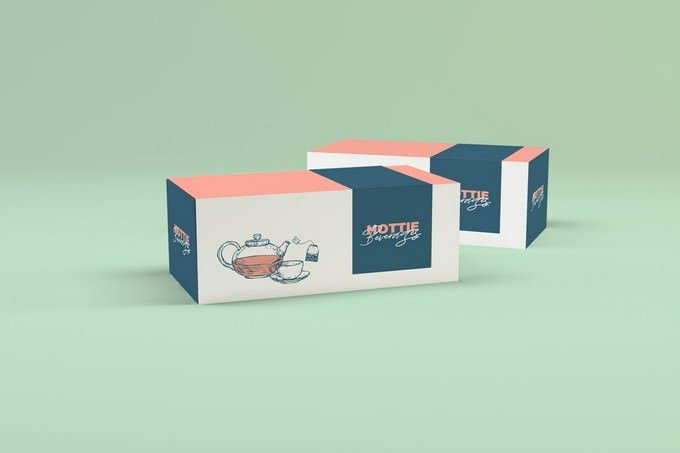Multipurpose Box Packaging Mockup