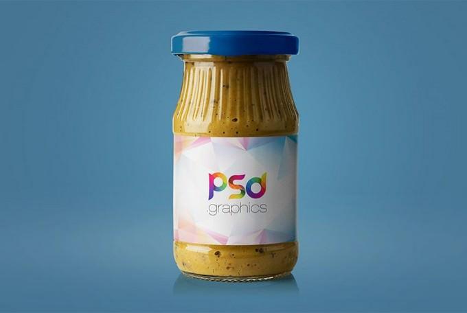 Mustard Jar PSD