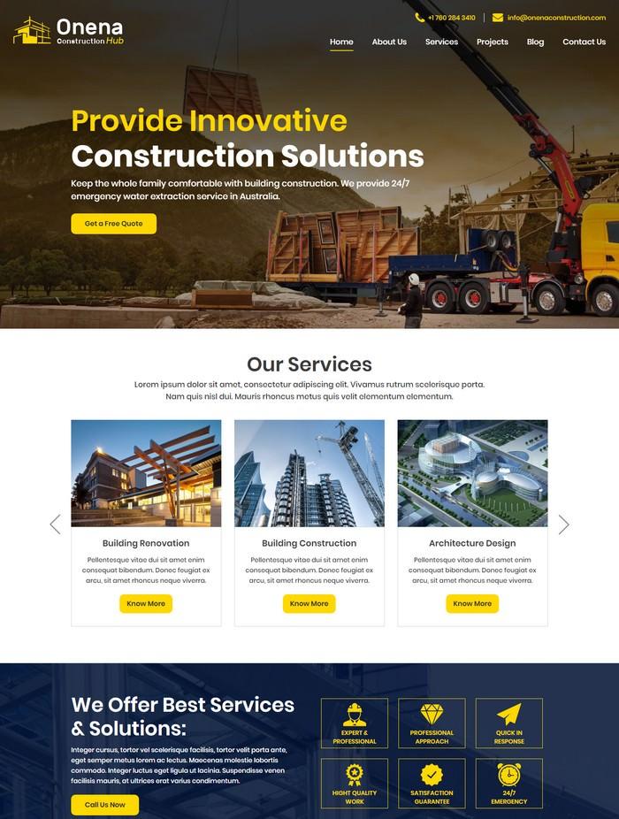 Onena Construction Hub