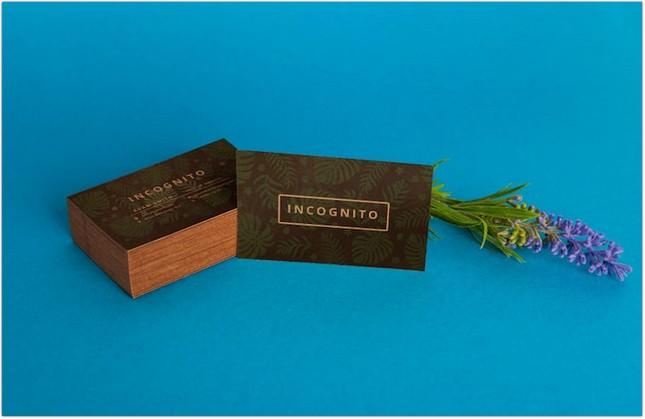 Organic Business Card PSD Mockups