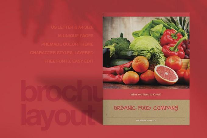 Organic Food Advertising