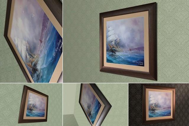 Perspective Frame Mockup