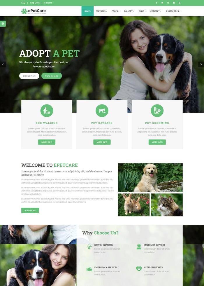 Pet Grooming Pet Sitter Veterinary Shop - e Pet Care