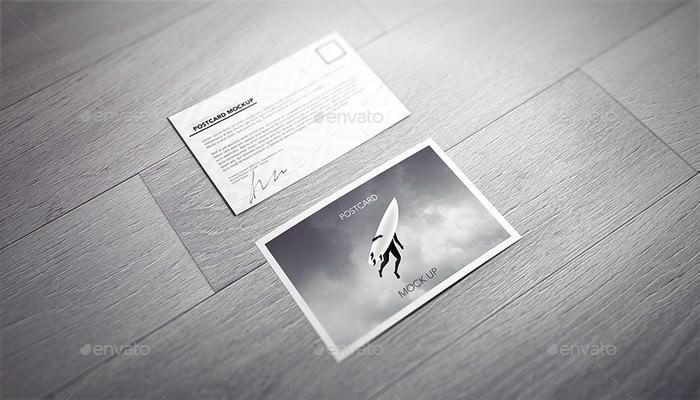 Postcard / Invitation / Flyer Mock-up