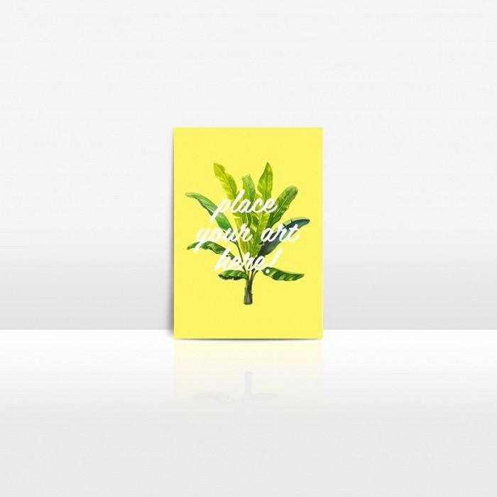 Postcard Mock up Design PSD