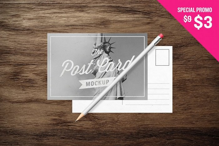Postcards - MockUp