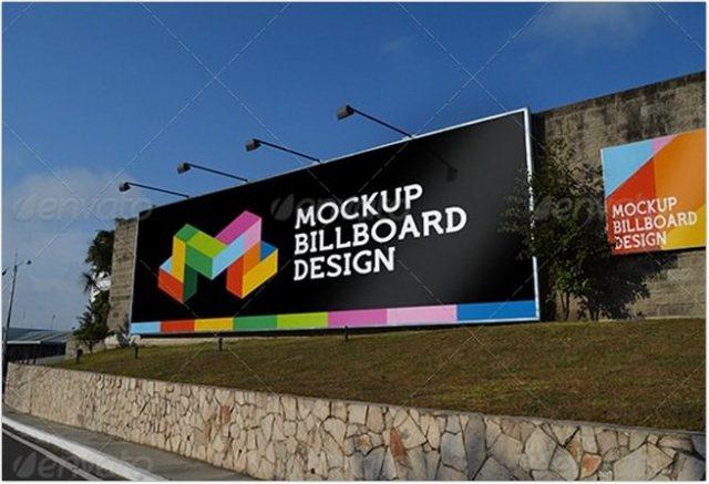 Professional Billboard MockUp