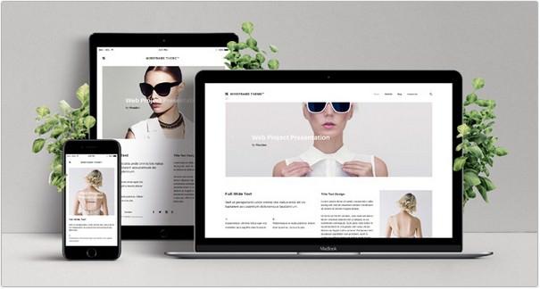 Psd Screen Web Showcase