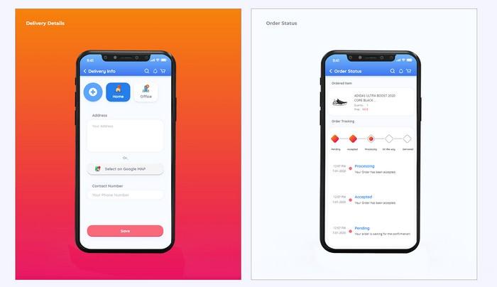 Qeekie Ecommerce App UI Kit
