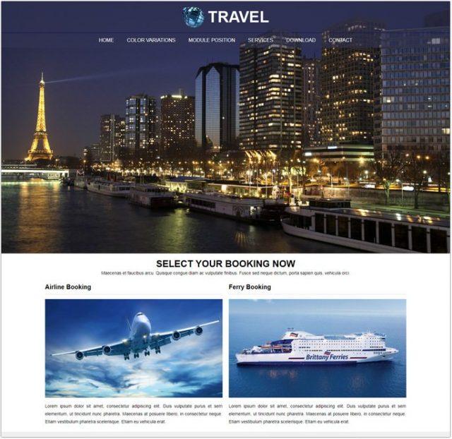 RT Travel Joomla Template