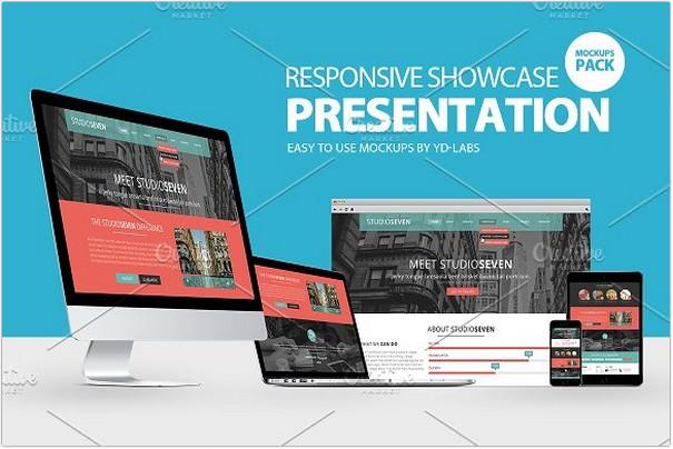 Responsive Showcase Presentation