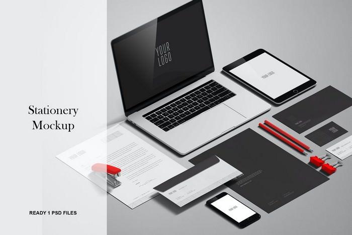 Stationery And Branding Mockup