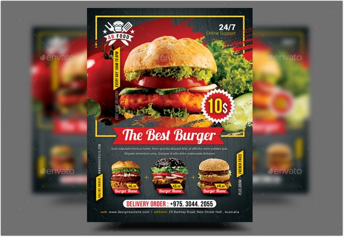 The Best Burger Flyer