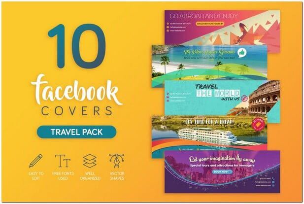 Travel Business Facebook Cover