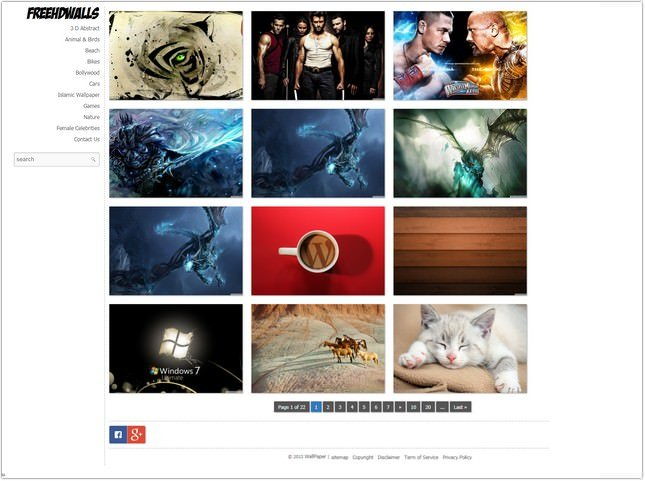 Fastest Loading wallpaper WordPress theme