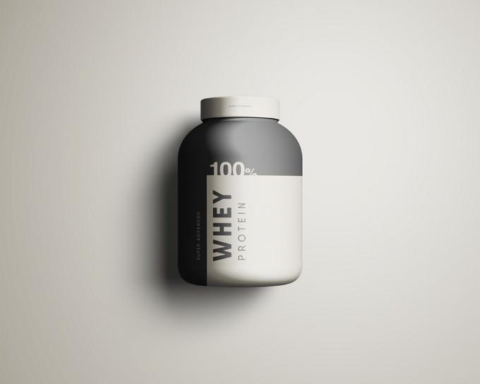 Whey Protein Jar