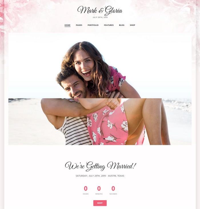 WoWedding - Wedding Oriented HTML Website Template