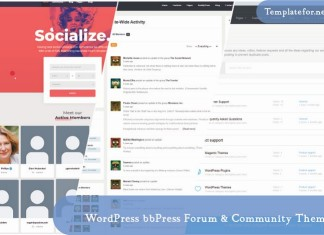 WordPress bbPress Forum & Community Theme