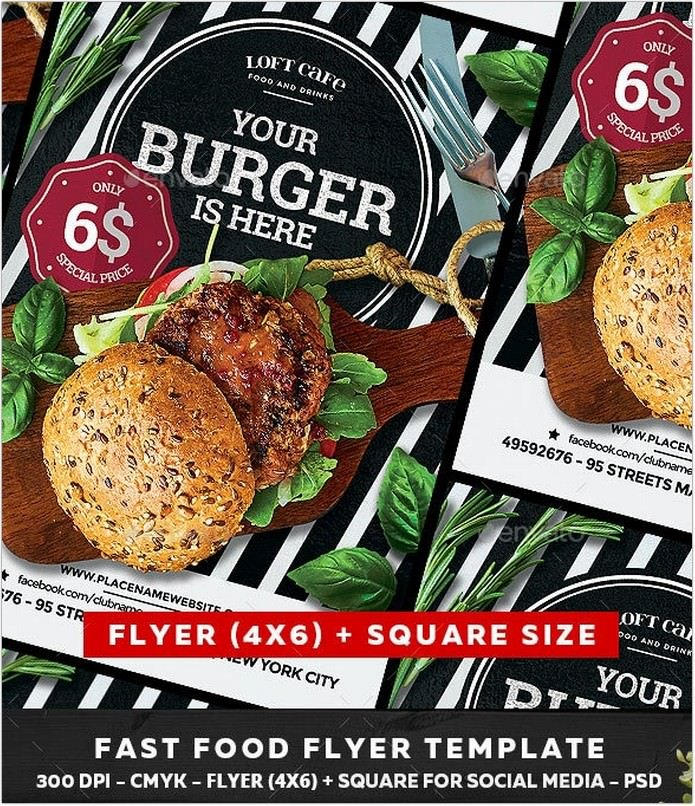 Your Burger Flyer