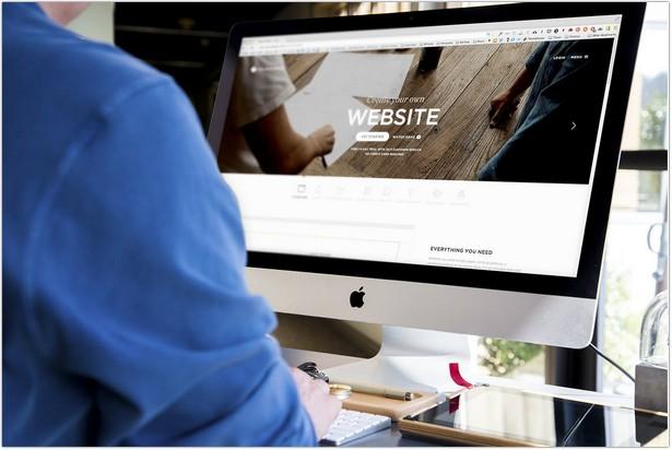iMac Screen Display Mock-Up