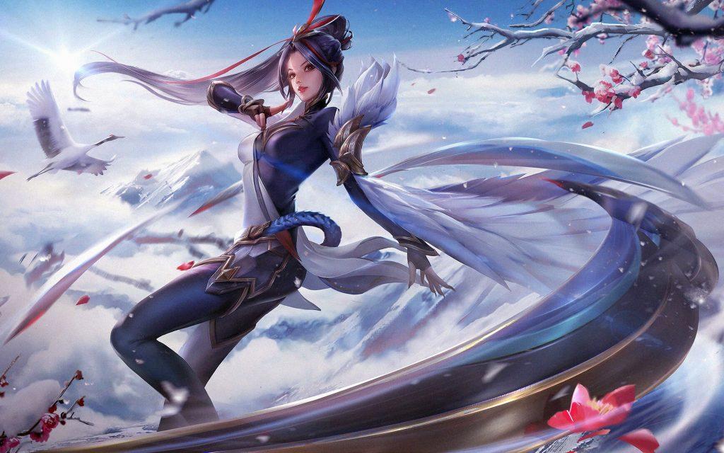4000×2500-Sea Bird Anime Queen HQ