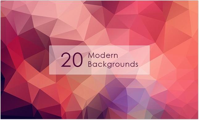 20 Hi-Res Modern Backgrounds