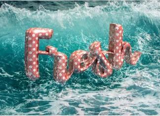 3D Floaties Text Effect