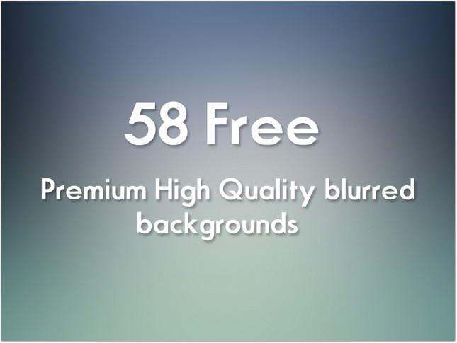 58 Free Blurred HD BG