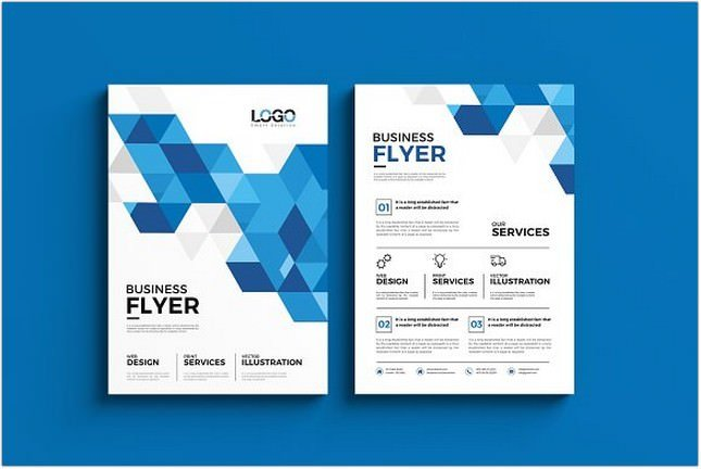 Abstract Polygon Flyer