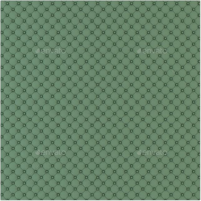 Big Green Pattern Upholstery