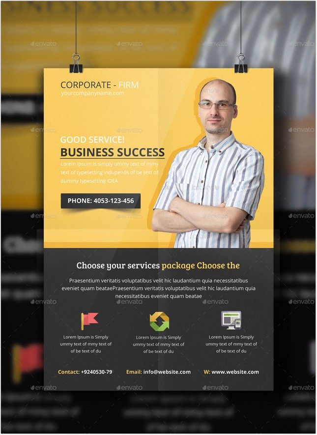 Business Consulting Flyer Psd