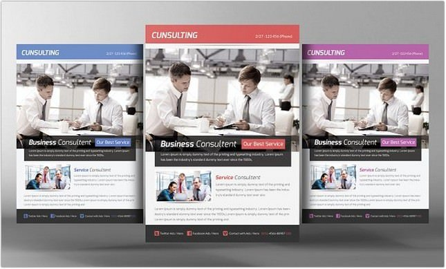 Business Consulting Flyer Template # 2
