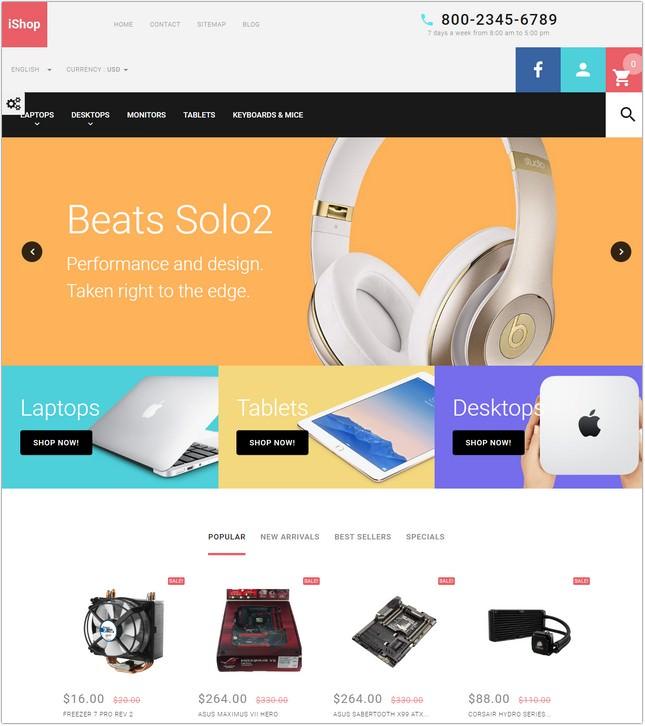 Computer Store Responsive PrestaShop Theme