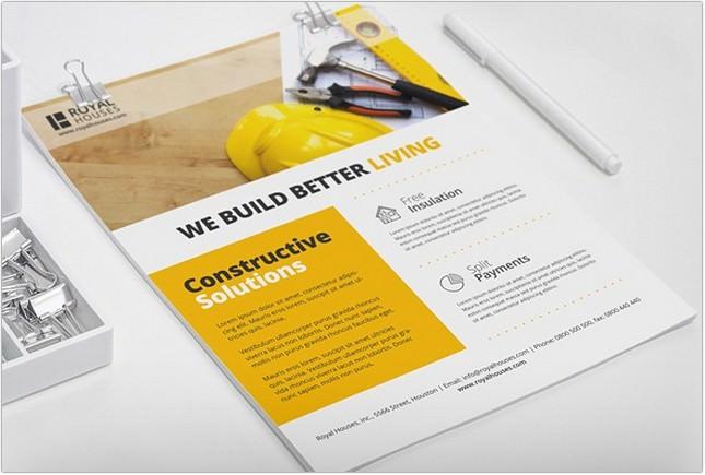 Construction Business Flyer 2