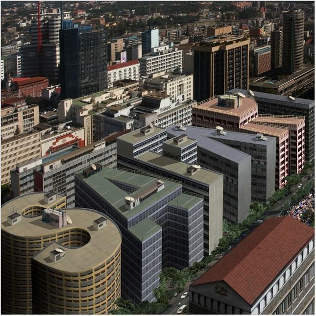 Convincing Text-Shaped Buildings