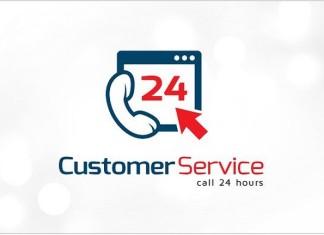 Customer Service Web 24 Hours Logo