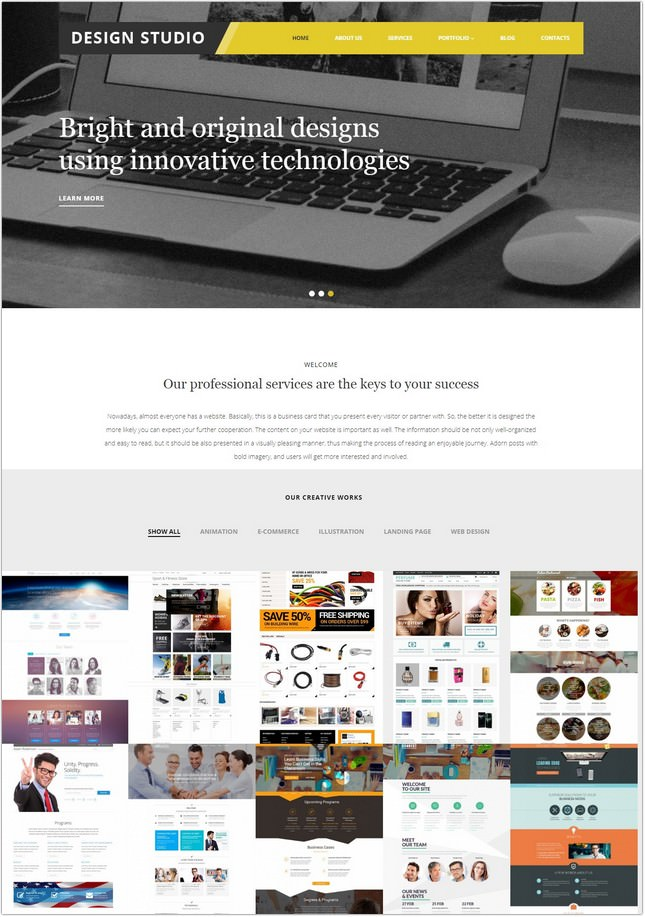 Design Studio PHP Theme
